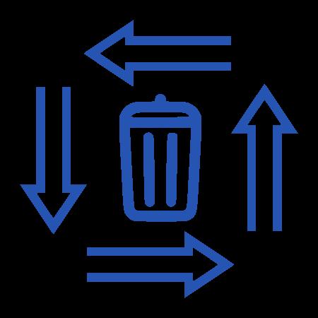 Przepływ odpadów